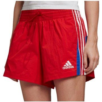 adidas kurze SporthosenW AAC SHORT - FS6153 rot