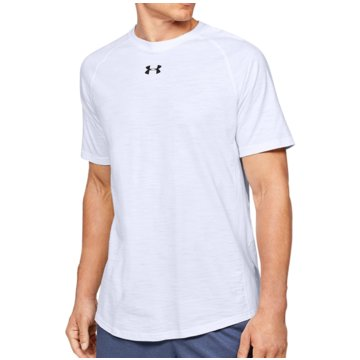 Under Armour KurzarmhemdenKURZARM-OBERTEIL AUS CHARGED COTTON® - 1351570 weiß