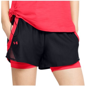 Under Armour kurze SporthosenPLAY UP SHORT 3.0 - 1344552 schwarz
