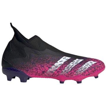 adidas Nocken-SohlePREDATOR FREAK.3 LACELESS FG FUßBALLSCHUH - FW7512 pink
