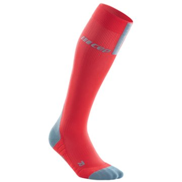 CEP Kniestrümpfe RUN SOCKS 3.0, BLUE/GREY, MEN I - WP50X rot