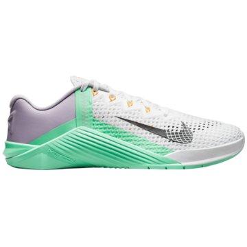 Nike TrainingsschuheMETCON 6 - AT3160-135 weiß