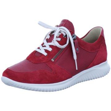 Hartjes Sportlicher Schnürschuh rot
