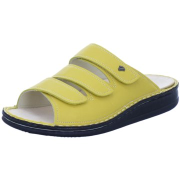 FinnComfort Pantolette gelb