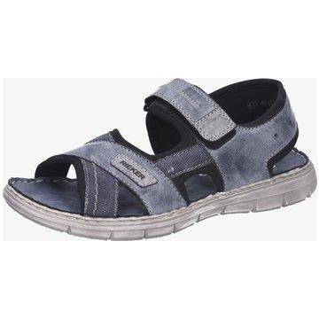 Rieker Komfort Sandale grau