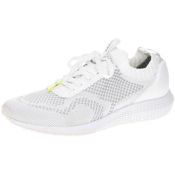 Tamaris Sportlicher Schnürschuh weiß