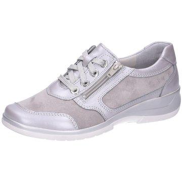Stuppy Komfort Schnürschuh grau