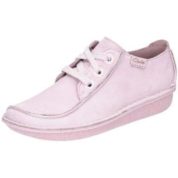 Clarks Komfort SchnürschuhFunny Dream rosa