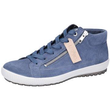 Legero Sportlicher Schnürschuh blau