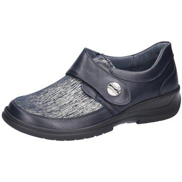 Stuppy Komfort Slipper blau