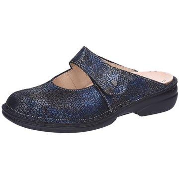 FinnComfort Komfort PantolettePantolette blau