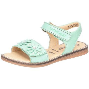 Däumling Offene Schuhe grün