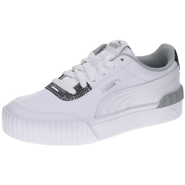 Puma Sneaker LowCarina Lift Snake weiß