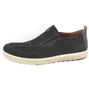 Ecco Sportlicher Slipper schwarz