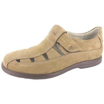Sioux Bequeme Sandalen beige