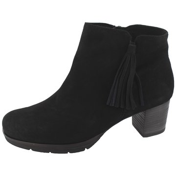 Semler Komfort Stiefelette schwarz