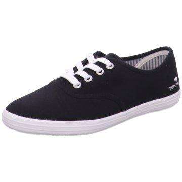 Supremo Sneaker Low schwarz