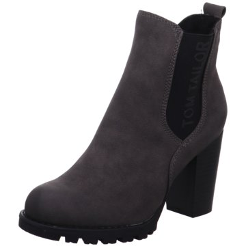 Tom Tailor Chelsea Boot grau