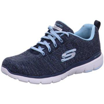 Skechers Sneaker LowFlex Appeal 3.0 High Tides blau