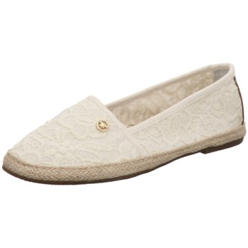 Tom Tailor Espadrille weiß