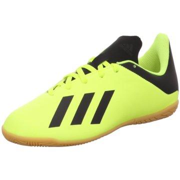 adidas Trainings- und HallenschuhX Tango 18.4 Indoor gelb