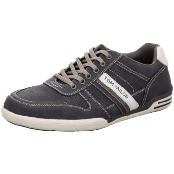 Tom Tailor Sportlicher Schnürschuh blau