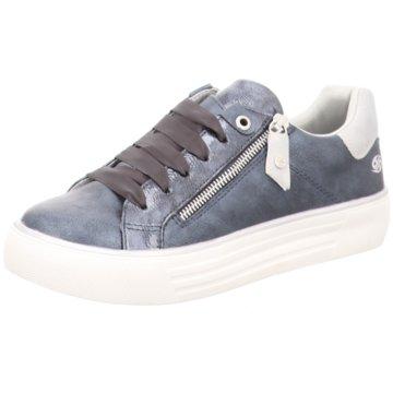 Dockers by Gerli Sportlicher SchnürschuhSneaker blau