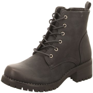 Hengst Footwear Schnürstiefelette schwarz