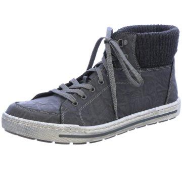 Rieker Sneaker HighG schwarz