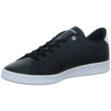 adidas Sneaker LowAdvantage Clean QT Schuh - DB1370 schwarz
