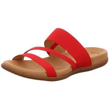 Gabor Klassische Pantolette rot