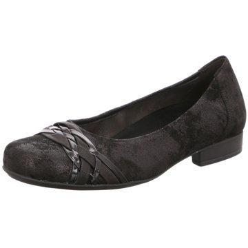 Gabor comfort Klassischer Ballerina schwarz