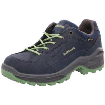 LOWA WanderhalbschuheSneaker blau