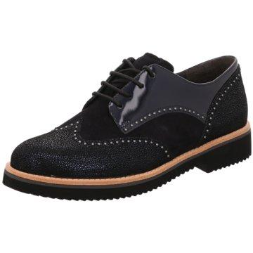 Gabor Top Trends SchnürschuheSneaker schwarz