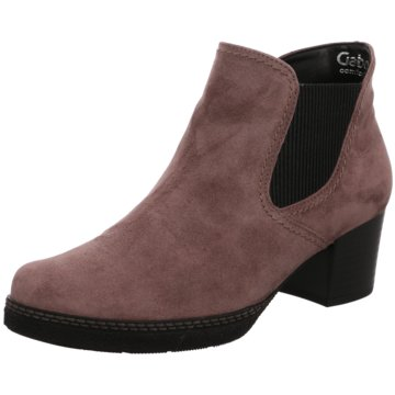 Gabor Chelsea BootAnkle-Bootie rosa
