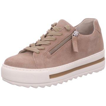 Gabor comfort Plateau SchnürschuheSneaker rosa