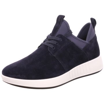 Legero Komfort SchnürschuhSneaker blau