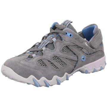 Allrounder Sportlicher SchnürschuhSneaker grau
