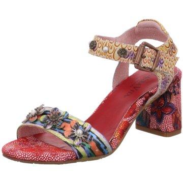 Laura Vita Komfort SandalePantolette rot