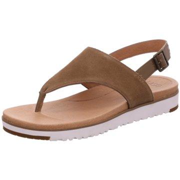 UGG Australia SandalettePantolette braun