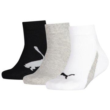 Puma Hohe SockenKIDS BWT QUARTER 3P - 100000970 weiß