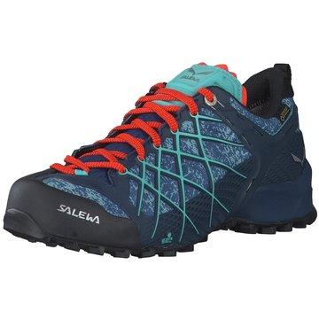 Salewa Trekkingschuhe blau