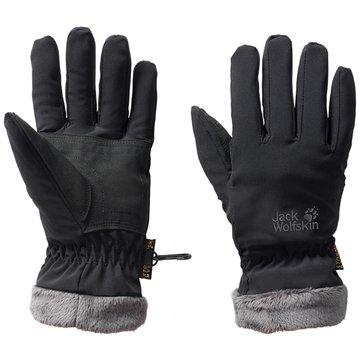 JACK WOLFSKIN Handschuhe schwarz