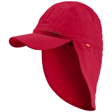VAUDE Mütze Kinder rot
