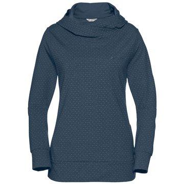 VAUDE HoodiesWomen's Tuenno Pullover blau