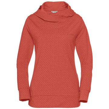 VAUDE HoodiesWomen's Tuenno Pullover rot