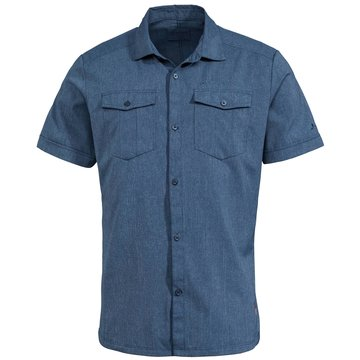 VAUDE KurzarmhemdenMen's Iseo Shirt blau
