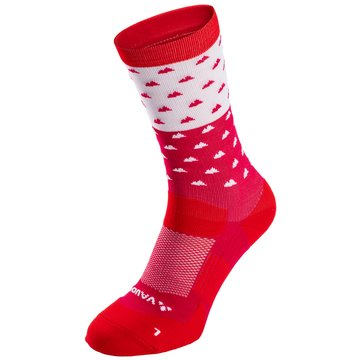 VAUDE Hohe SockenBike Socks Mid rosa