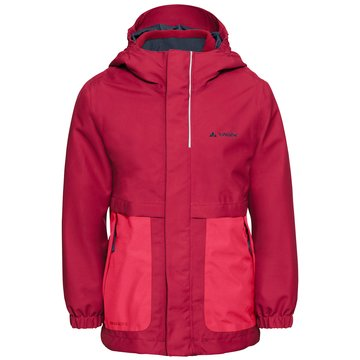 VAUDE DoppeljackenKids Campfire 3in1 Jacket Girls rot