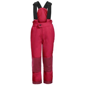 VAUDE Kurze HosenKids Snow Cup Pants III rosa